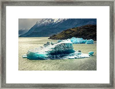 Iceberg Framed Print by Andrew Matwijec
