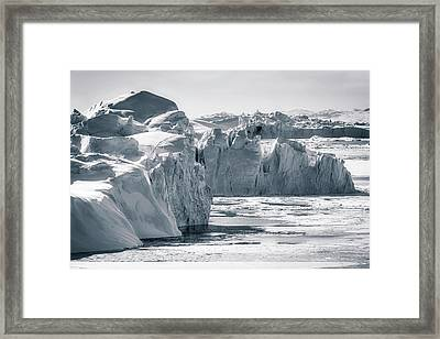 Icebergs Framed Print by Joana Kruse
