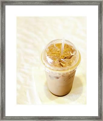 Iced Coffee 1 Framed Print