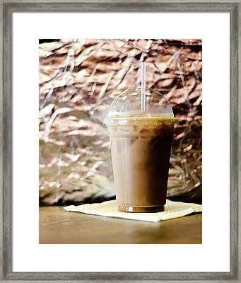Iced Coffee 2 Framed Print