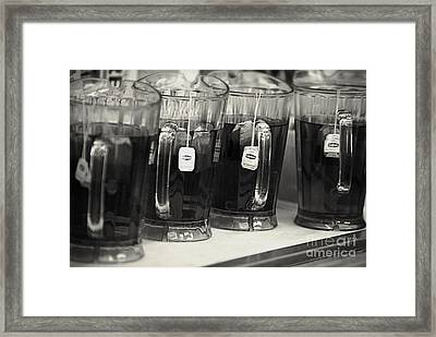 Iced Tea Framed Print by Frank J Casella