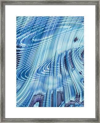 Icefall Framed Print