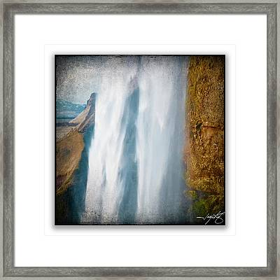 Iceland 6a Framed Print by Ingrid Smith-Johnsen