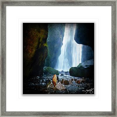 Iceland 8a Framed Print by Ingrid Smith-Johnsen