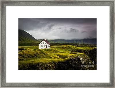 Iceland Scene Framed Print