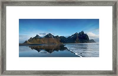 Iceland Sunrise Framed Print