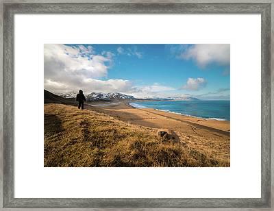 Iceland View Framed Print
