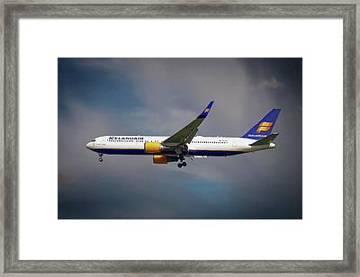 Icelandair Boeing 767-319 Er Framed Print