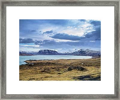 Icelandic Blues Framed Print