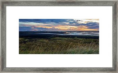 Framed Print featuring the photograph Icelandic Coast by Brad Scott