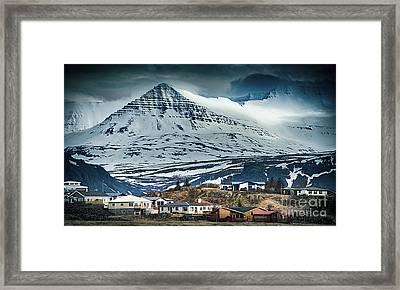 Icelandic Village Framed Print by Svetlana Sewell