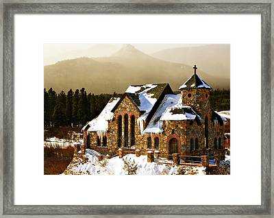 Icicles Framed Print by Marilyn Hunt