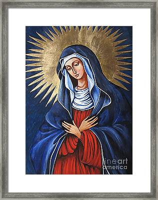 Icon 1368wd Framed Print