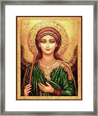 Icon Archangel Gabriel Framed Print