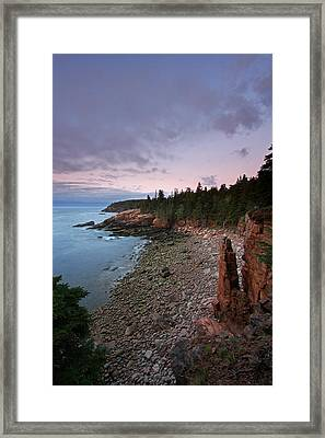 Iconic Acadia Framed Print by Juergen Roth
