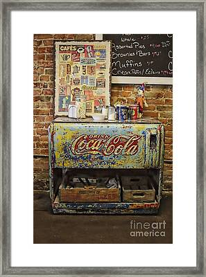Iconic Americana On Display Framed Print by Benanne Stiens