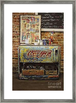 Iconic Americana On Display Framed Print