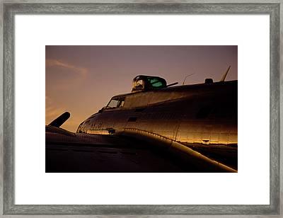 Iconic B17 Framed Print by Keith Bridgman