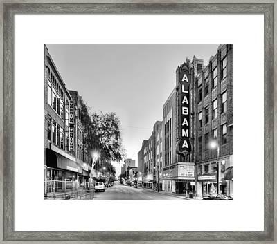 Iconic Birmingham Framed Print by JC Findley