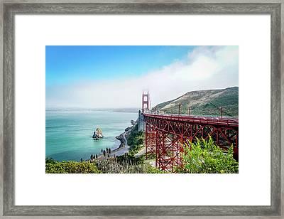 Iconic Bridge Framed Print