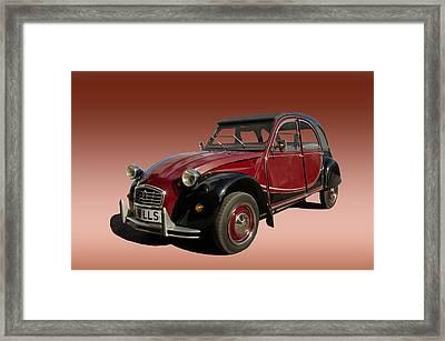 Iconic Car Framed Print