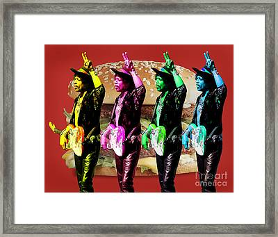 Iconic Experience Framed Print by Keith Dillon