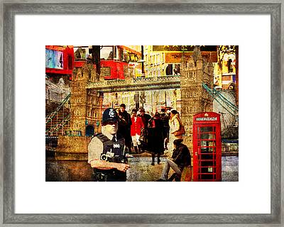 Iconic London Framed Print