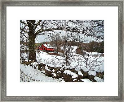 Iconic New Hampshire Framed Print