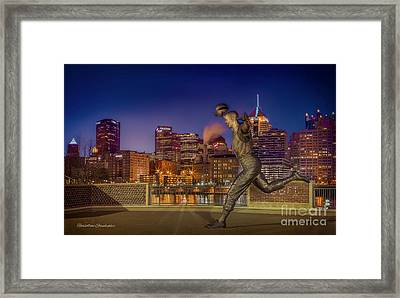 Iconic Pittsburgh Framed Print