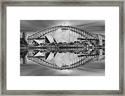 Iconic Reflections Framed Print by Az Jackson