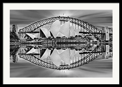 Exposure Digital Art Framed Prints