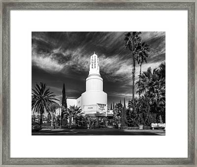Iconic Tower Theatre Framed Print