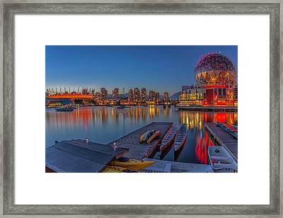 Iconic Vancouver Framed Print