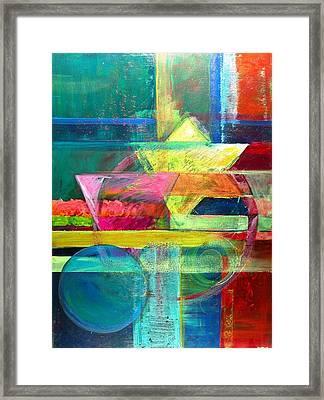 Iconography II Framed Print