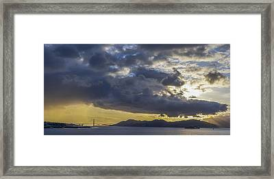 Icons Of The Bay Framed Print