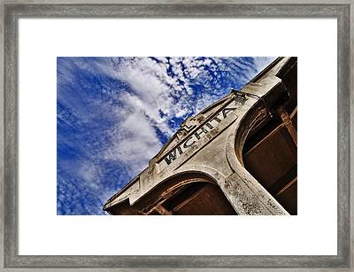 Framed Print featuring the photograph Ict by Brian Duram