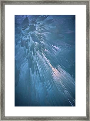 Icy Blue Framed Print by Rick Berk