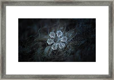 Icy Jewel, Panoramic Version Framed Print