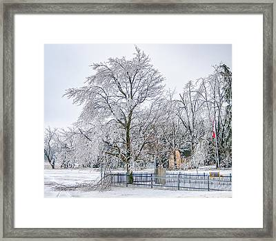 Icy Memories 2 Framed Print by Steve Harrington