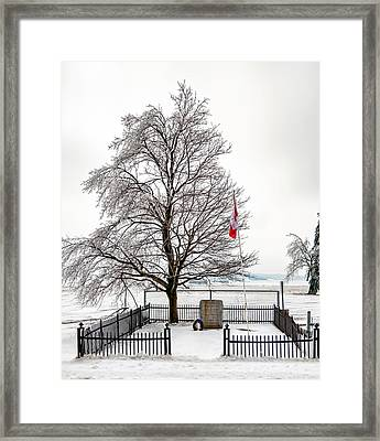 Icy Memories Framed Print by Steve Harrington