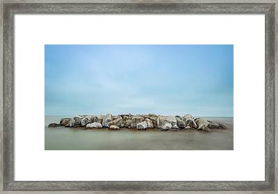 Icy Morning Framed Print