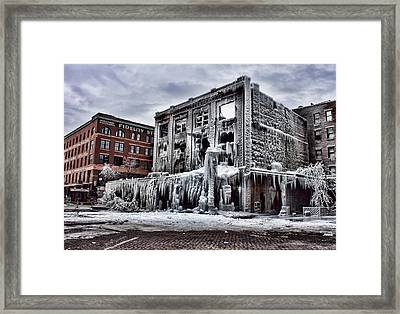 Icy Remains - After The Fire Framed Print