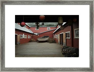 Icy Strait Point Cannery Museum Framed Print