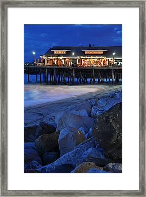 Icy Waters Framed Print