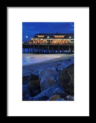 Redondo Beach Pier Framed Prints