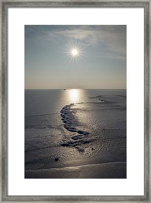 Icy World Framed Print by Davorin Mance