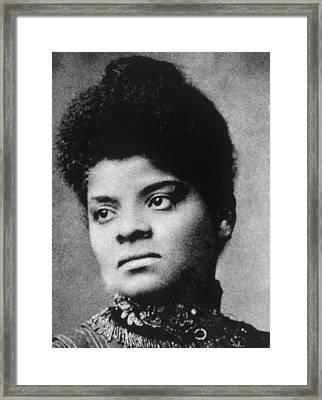 Ida B. Wells 1862-1931 Framed Print