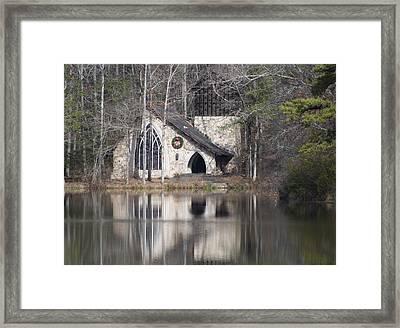 Framed Print featuring the photograph Ida Cason Callaway Memorial Chapel by Linda Geiger