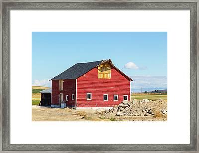 Idaho Barn Framed Print