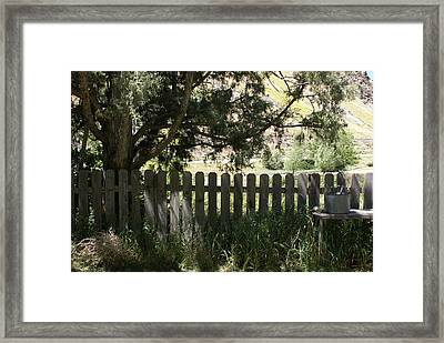 Idaho Farm1 Framed Print by Cynthia Powell